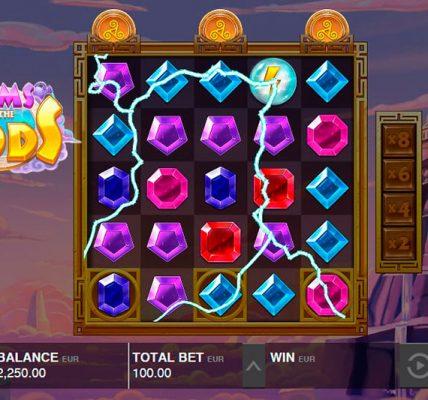 игровой автомат онлайн Драгоценные камни богов