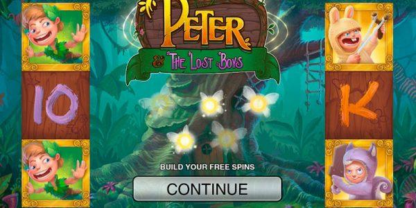 игровой автомат онлайн Питер и потерянные мальчики