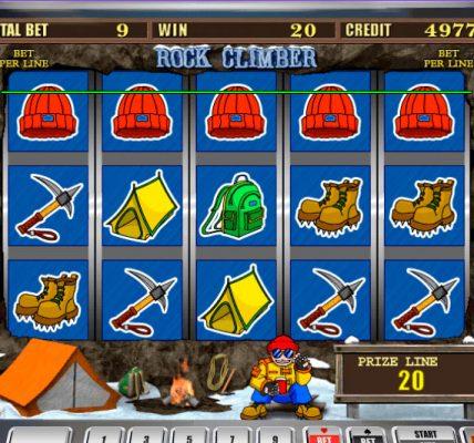 игровой автомат онлайн Скалолаз
