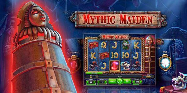 игровой слот онлайн Мифическая Дева