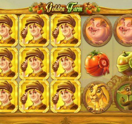 игровой автомат Золотая Ферма