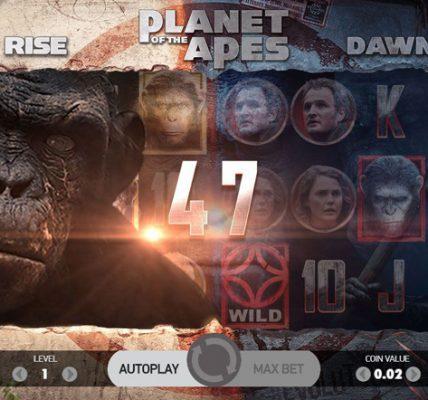 игровой слот Планета обезьян